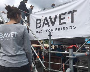 Spandoek voor BAVET
