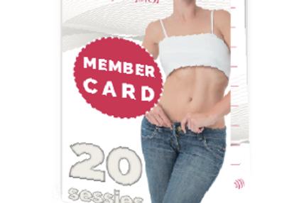 20-beurtenkaart
