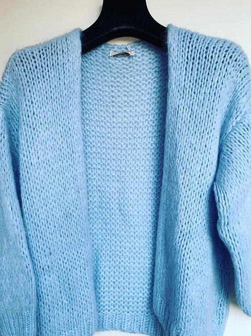 BERNADETTE CARDIGAN BABY BLUE