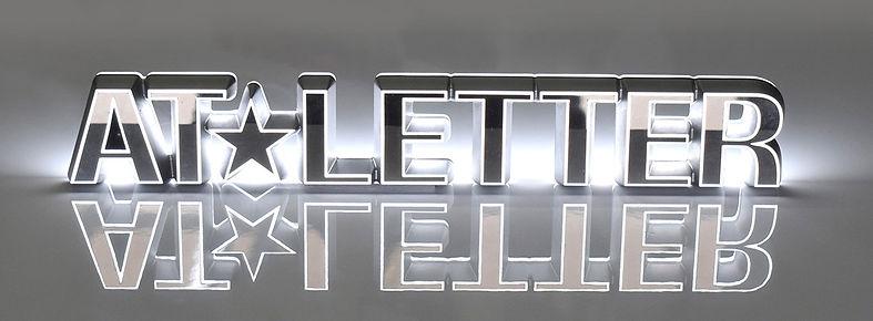 LED,チャンネル文字,テーパー加工,表札,インテリア,激安,全国販売