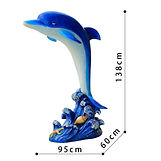 Frp-Large-Decorative-Fiberglass-Dolphin-
