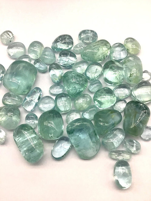 Aquamarine Tumble Plain Top Quality Tumble Shape Natural Gemstone Jewellery