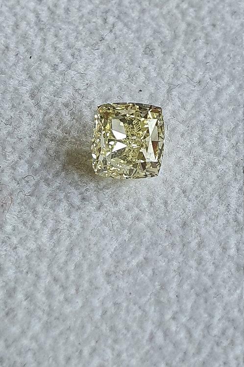 1.42 Carat natural VVS Diamond Cushion Cut Solitaire Diamond Fine Diamond