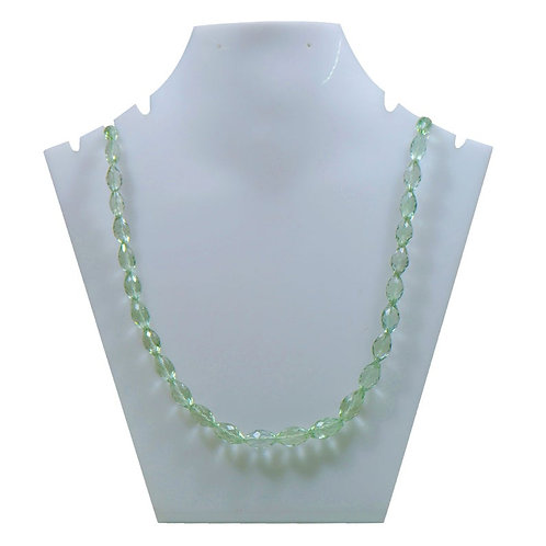 Green Amethyst - 16'' Brazil Fancy Gemstone 1 Strand  Jewelry Beads