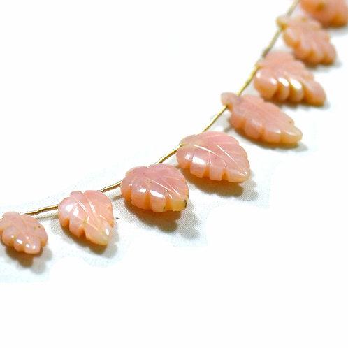 Beautiful Shape - 8'' Pink Opal Chinese Fancy 1 Strand Gemstone Jewelry Beads
