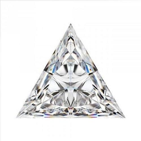 Triangle Moissanite D COLOR VVS1 Loose-Stone