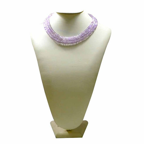 Pink Amethyst SALE !! - 16'' Brazil Beads Tumble 1 Strand Gemstone