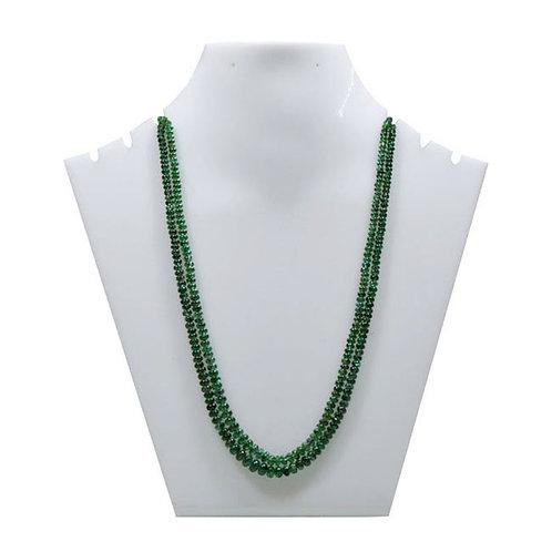 Emerald Beads Brazil Smooth Beads Gemstone Gems 125.85 Ct Necklace