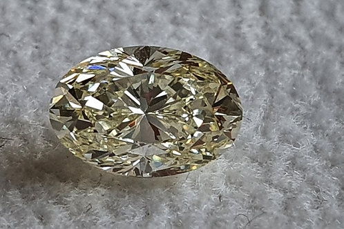 1.00 Carat natural VVS Diamond Oval Cut Solitaire Diamond Fine Diamond Solitaire