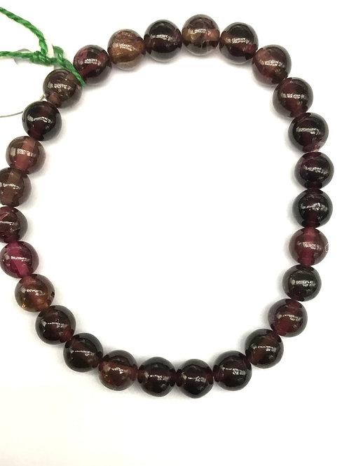 Tourmaline Bracelet Smooth Balls Gemstone 78.00 ct EB00015 Natural Beads Gemston