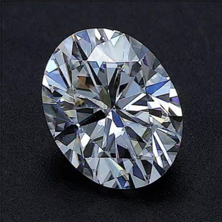 Oval Moissanite D COLOR VVS1 EXCELLENT-Loose- Gem Stone