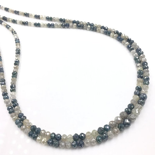 Fancy Diamond Balls Beads 16 Inches 3 To 4mm Approx 35 Carats 1 Strand Top