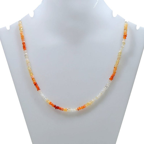 Mexican Fire Opal - 16'' Mexico Faceted Beads Gemstone 1 Strand  Jewelry Beads