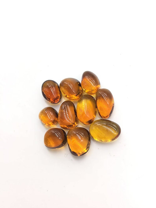 Citrine Tumble natural Gemstone For Jewelry Making beading Tumbled gem Citrine