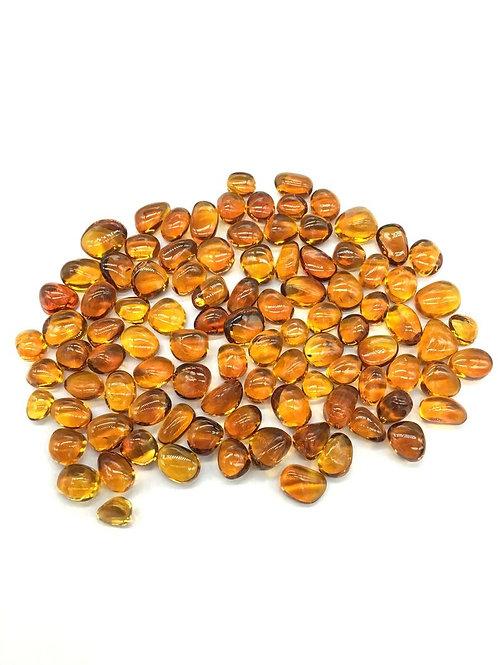 Citrine Tumbled Gemstone AAA+ 5 Piece / 18.50 Ct Gemstone for Jewellery rings
