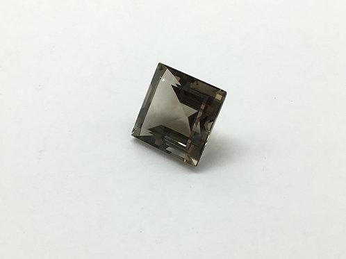 Smoky Quartz Cut Stone Top Quality 1piece 18.60carats size- 16x16MM