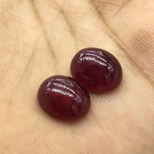 Ruby Cabochon Gemstone For Jewelry making