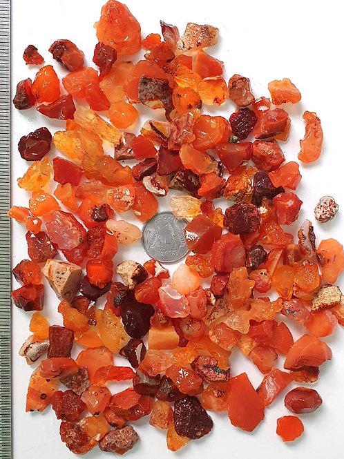 High Grade Natural Mexican Fire Opal Raw Material Fire Opal Fine Rough Gemstone
