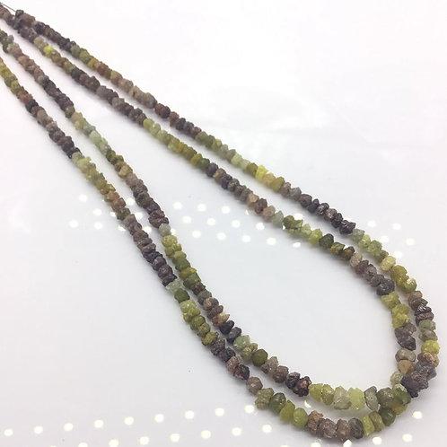 Multi Colour Uncut Diamond Beads