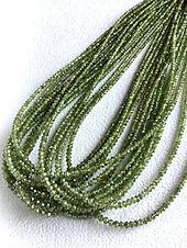 Green Diamond Beads