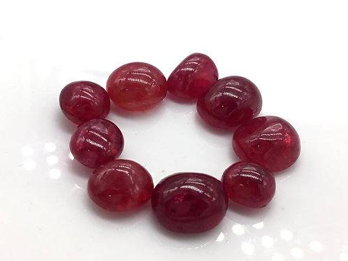 Spinel Cabochon Gem Burmese Spinel Cabs Natural Gemstone For Spinel Jewelry