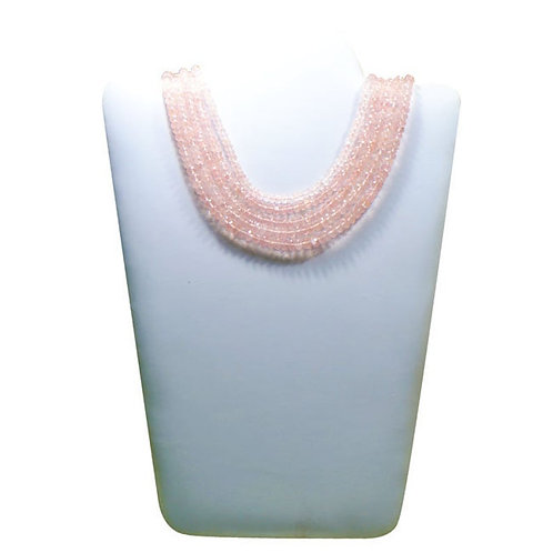 Rose Quartz - 16'' top color AAA Africa Faceted Beads Gemstone 1 Strand