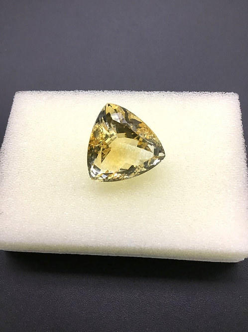 Citrine Faceted Trillion Shape Cut 100 % Natural Gemstone 42.30 Ct Gemstone