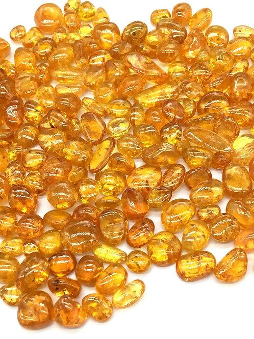Fanta Garnet Tumbled Gemstone AAA+ 5 Piece / 14.30 Ct Gemstone for Jewellery
