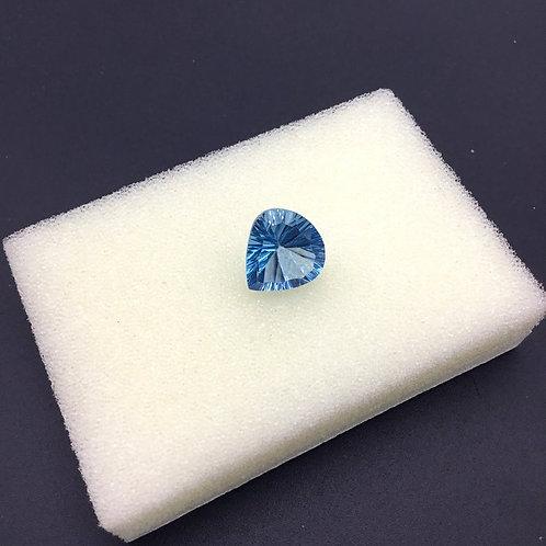 Sky Blue Topaz Heart Cut Shape 1 Piece Jewelry Set Loose Gemstone Natural Gems