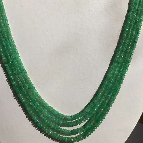 Colombian emerald Emerald Beads Natural Gemstone Faceted Beads Top Color