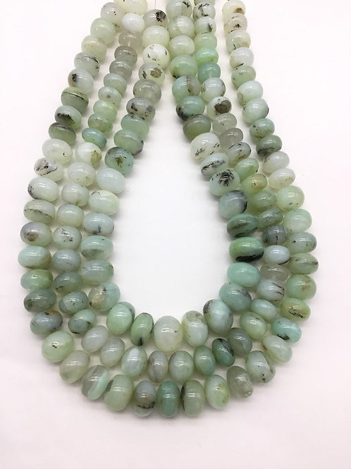 peru Opal Smooth Beads 1strand 320carats size-11to14MM Natural Gemstone Beads