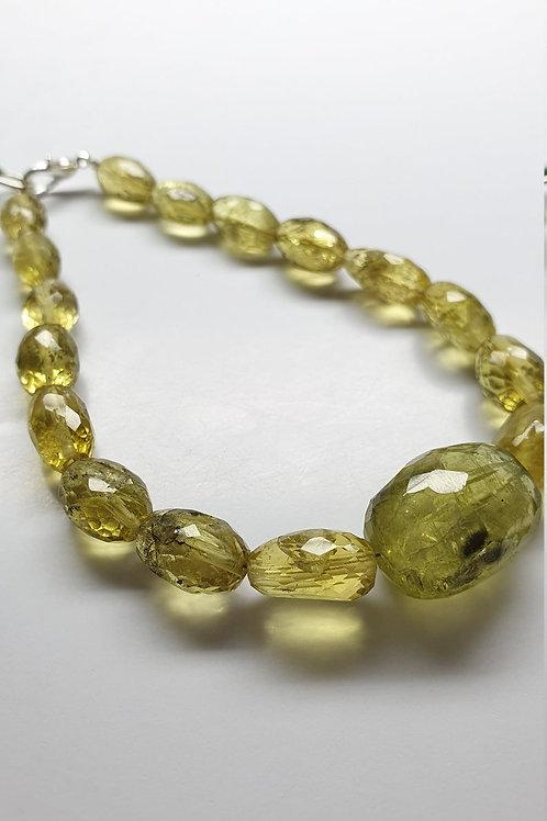 Heliodor Yellow Aqua faceted tumbles 96.45 carats size 7x9 to 14x18mm Aquamarine