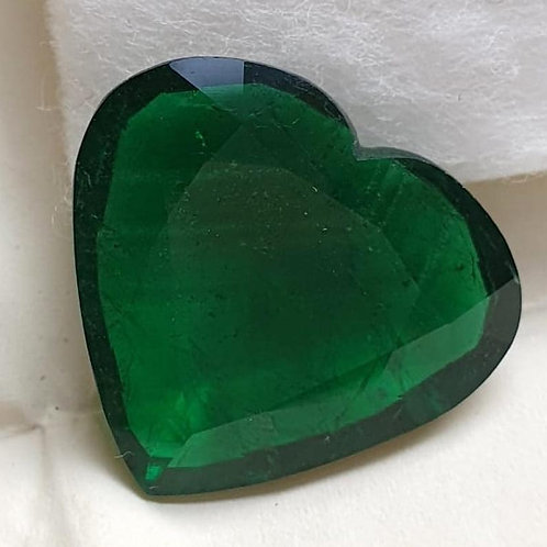 Natural Emerald Heart Emerald Cut stone Natural Gemstones for jewelry