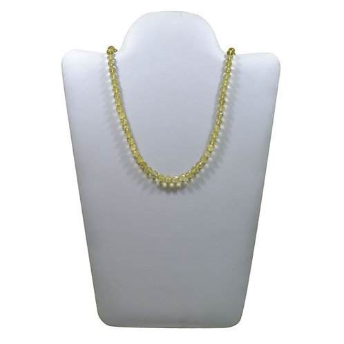 Lemon Quartz -16'' Brazil concave cut balls Gemstone 1 Strand Jewelry Beads