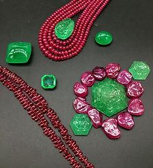 Gem Beads, Cabochon, Cut Stone
