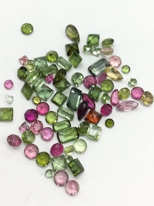 Multi Tourmaline Mix Cut Gemstone Small Size Natural gemstone Jewellery