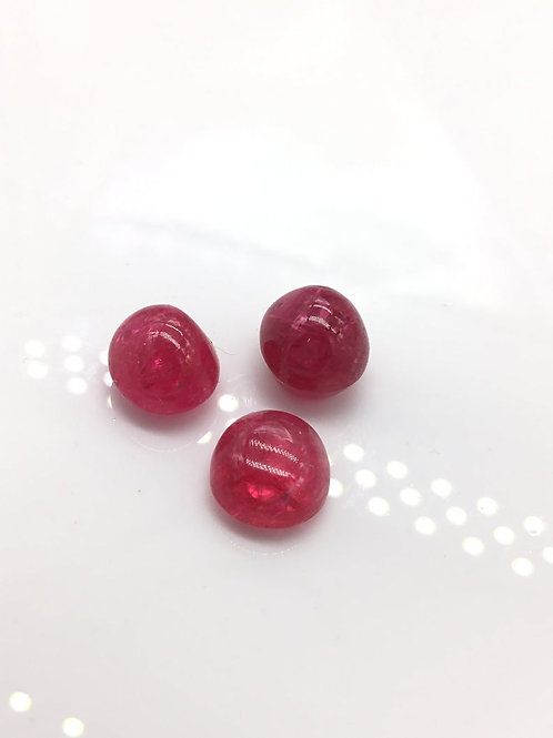 Spinel Cabochon Gem Burmese Spinel Cabs Natural Gemstone For Spinel Jewelry