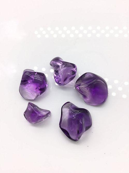Amethyst Tumble Gemstone For Jewelry