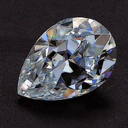 Pear Moissanite D COLOR VVS1 EXCELLENT-Loose- Gem Stone
