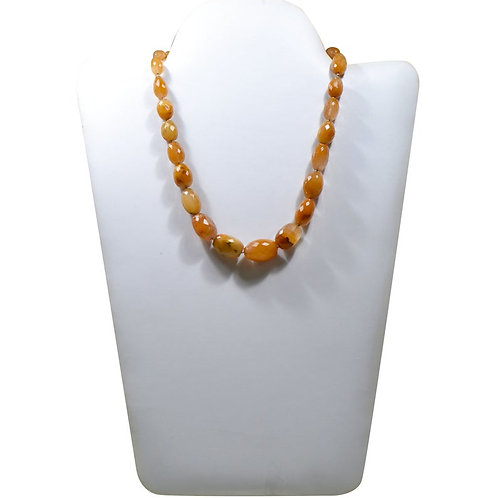 Camel Rutile - 16'' India Faceted Tumble 1 Strand Gemstone  Jewelry Beads