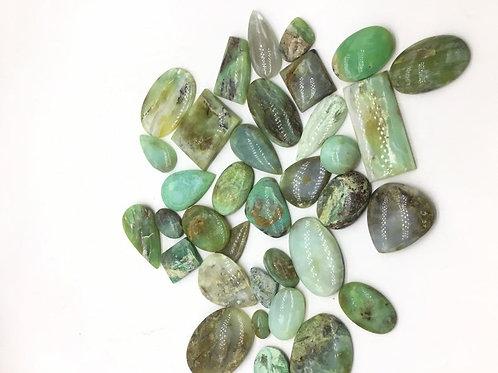 peru / peru Opal Agate Gemstone Cabochon 5pieces Lot 185carats average size