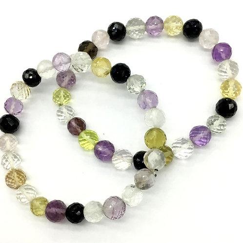 Gemstone Bracelet  Luck Bracelet Semi Multi Bracelet , Beads