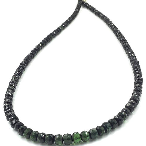 Green Tourmaline Faceted Beads Natural Gemstone Necklace gemstones beads