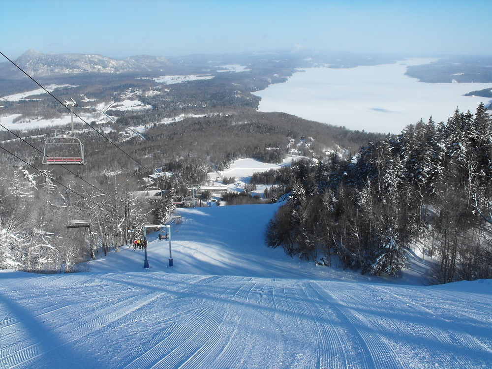 ski hill top places near montreal owls head