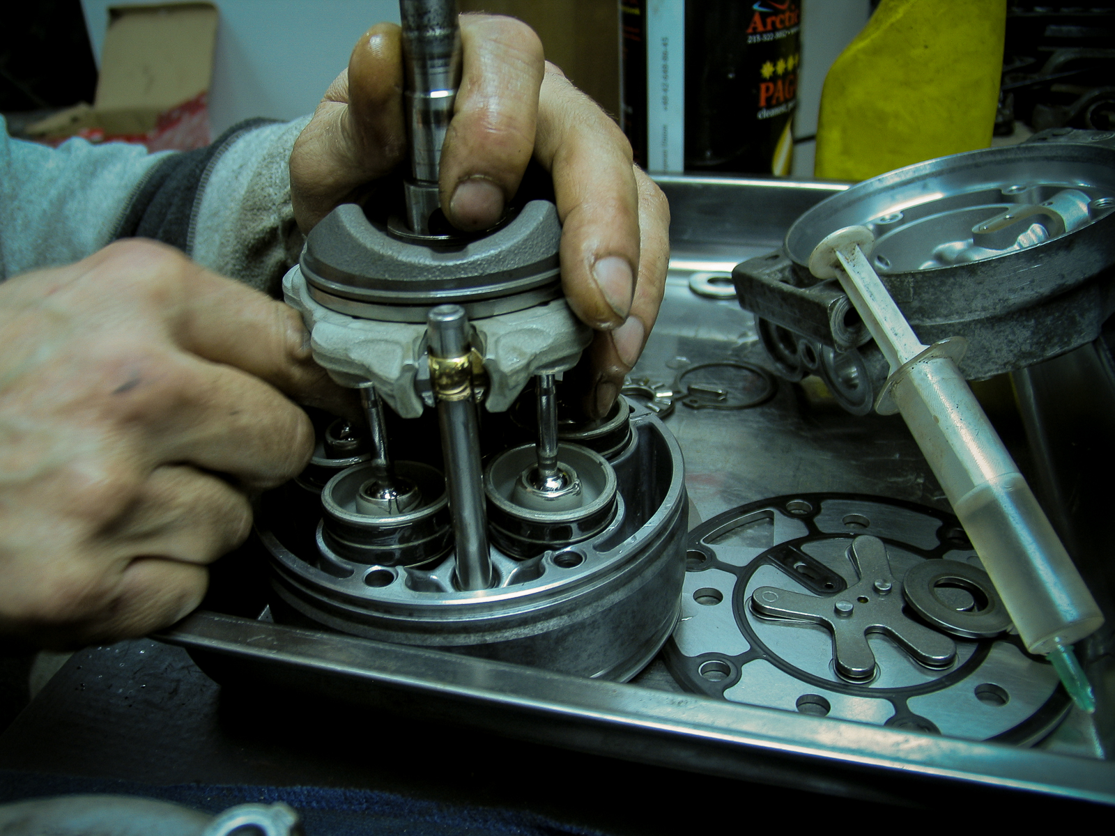 Ремонт компрессора-2