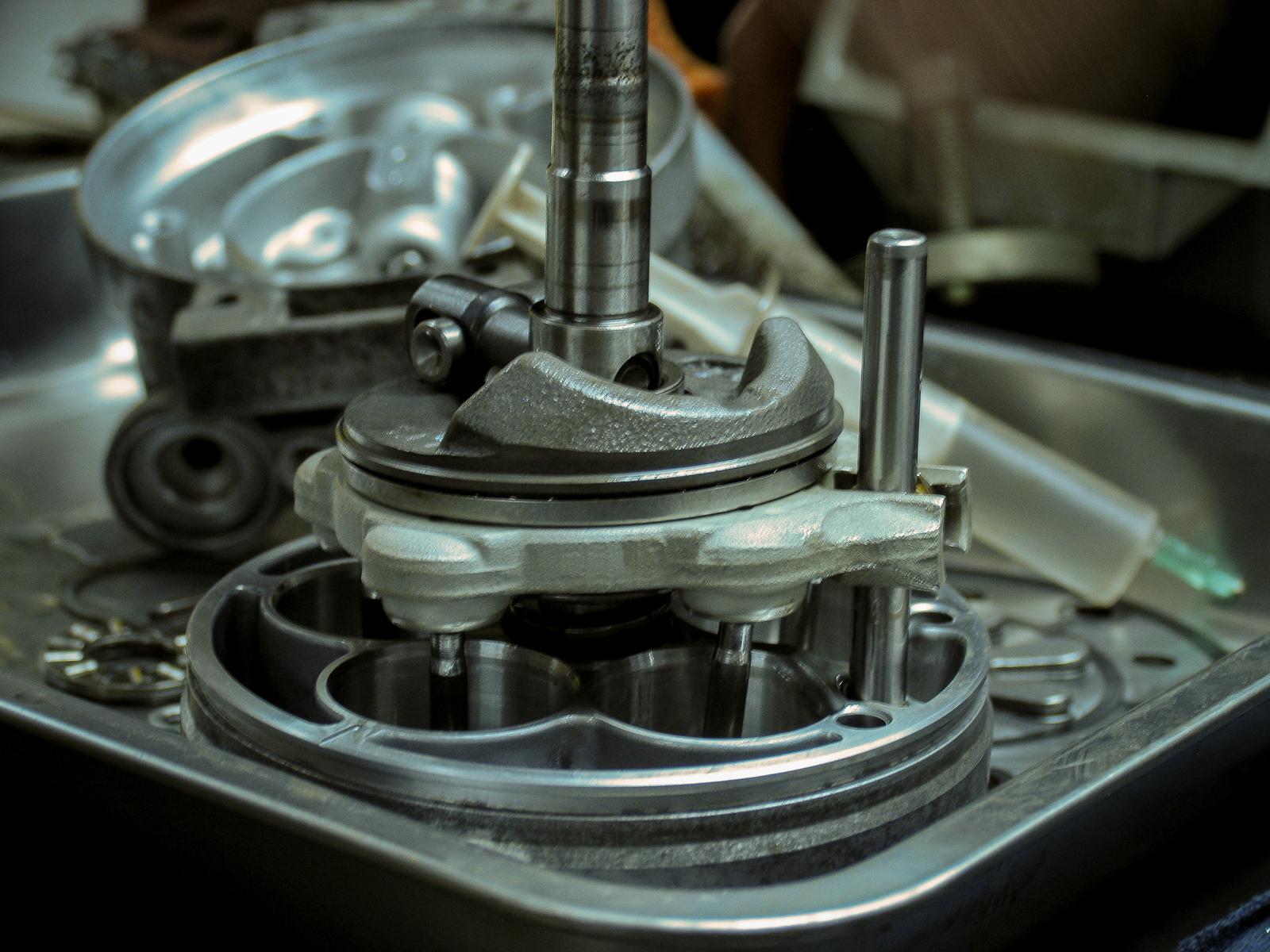 Ремонт компрессора-4