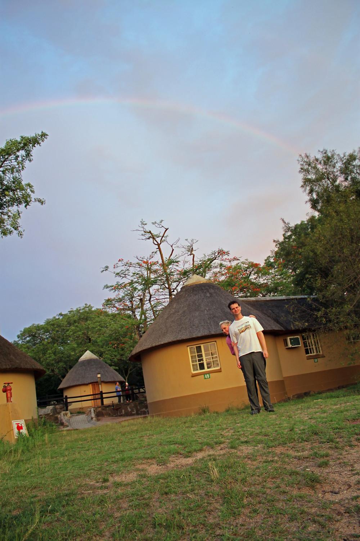 Under a Rainbow in Pretoriuskop