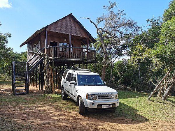 Treehouse at Bonamanzi Game Reserve