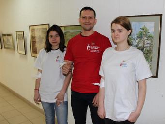 День донора в Кемеровском областном художественном колледже