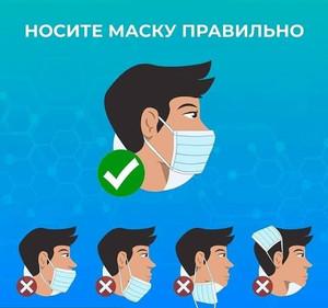 Масочный режим в Центре крови